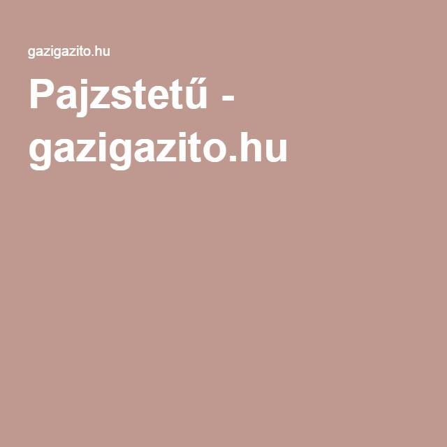 Pajzstetű - gazigazito.hu