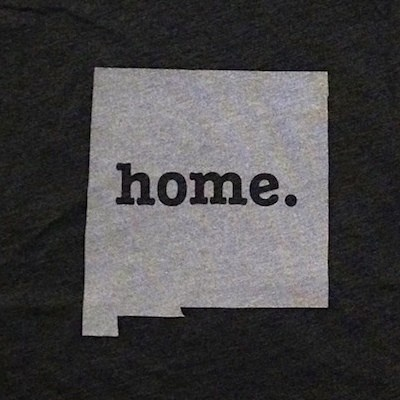 The Home. T - New Mexico Home T, $25.00 (http://www.thehomet.com/new-mexico-home-t-shirt/)