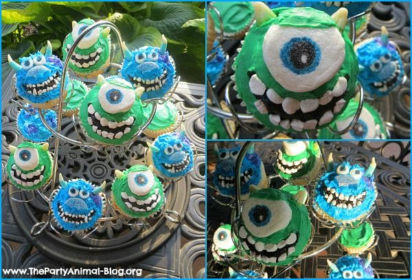 monsters inc birthday cake ideas   The Party Animal   Birthday Party Planning, Ideas and Supplies