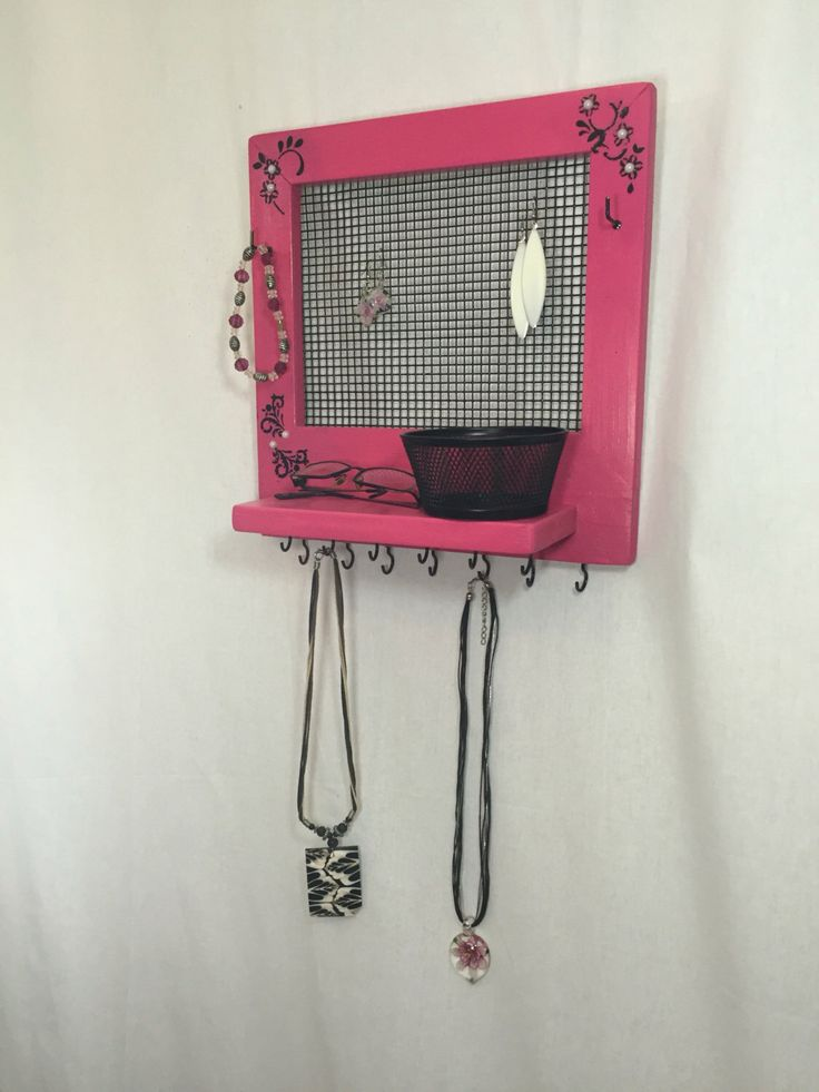 $64.99 Click the link to check out this item!  A personal favorite from my Etsy shop https://www.etsy.com/ca/listing/467770640/jewelry-max-necklace-holder-organizer