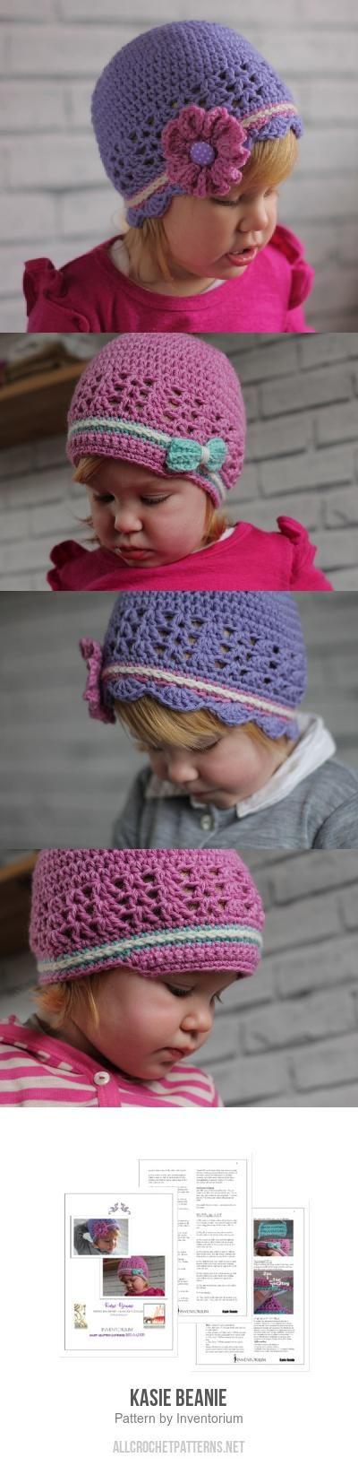 Kasie Beanie crochet pattern