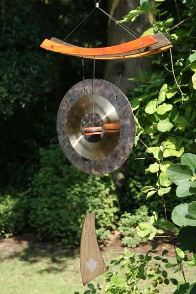 beautiful garden gong