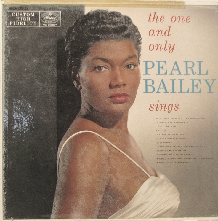 The One And Only Pearl Bailey Vinyl Album Covers