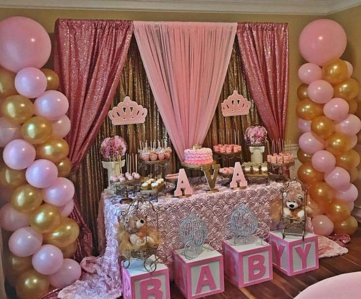 50 Cute Baby Shower Themes And Decorating Ideas For Girls (45