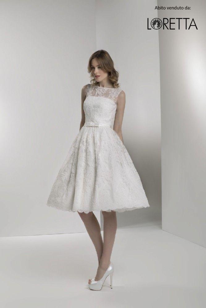 Collezione 2017   Vestito da sposa corto