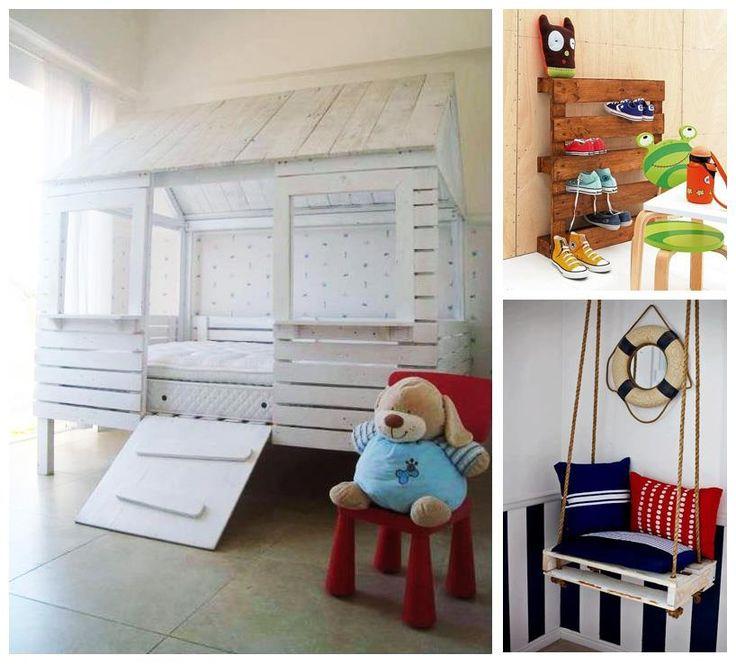 Esta vez #PalletManía para los más chicos, ideas para decorar los cuartos con pallets reciclados!    Entrá en www.dondereciclo.org y empezá a cuidar el futuro de todos.    Podés firmar tu contrato con el medio ambiente en: www.dondereciclo.org/contrato/