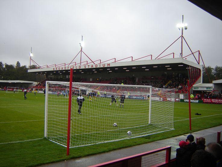 Checkatrade.com Stadium in Crawley, West Sussex