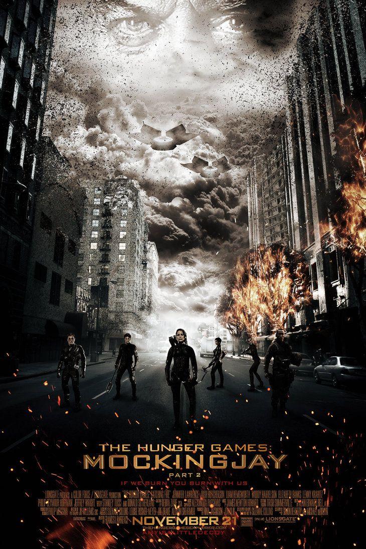 Mockingjay part 2 movie poster | mockingjay-part2-fanmade-poster_amyisalittledecoy