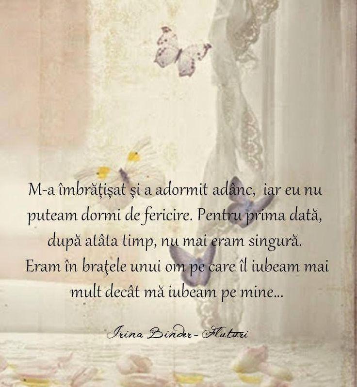 IRINA BINDER - Insomnii: Citate din cartea Fluturi