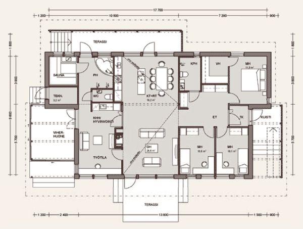 проект дома TREND 144A