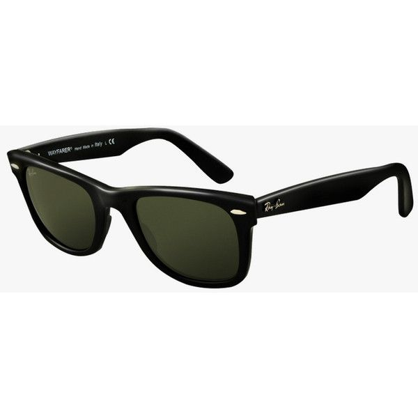 Ray-Ban Wayfarer ($205) ❤ liked on Polyvore featuring accessories, eyewear, sunglasses, glasses, wayfare, ray ban wayfarer, ray ban sunglasses, uv protection sunglasses and ray-ban