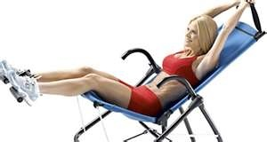 Ab lounger :)Have it..LOVE IT!!!! seriously really does work...no joke :)