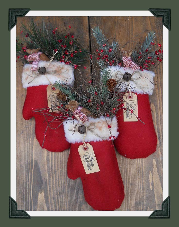 Christmas mittens...