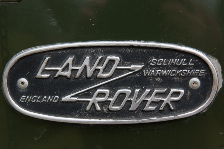 old #LandRover badge