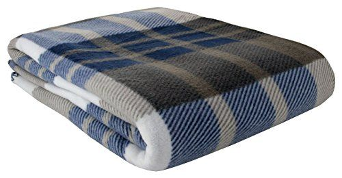 Tartan Check Polar Fleece Throw Blanket, Suitable for Chair or Bed, Machine Washable, 125cm x 152cm, Blue Ideal Textiles http://www.amazon.co.uk/dp/B00P2P4IAQ/ref=cm_sw_r_pi_dp_84Uhwb1WQHS4W