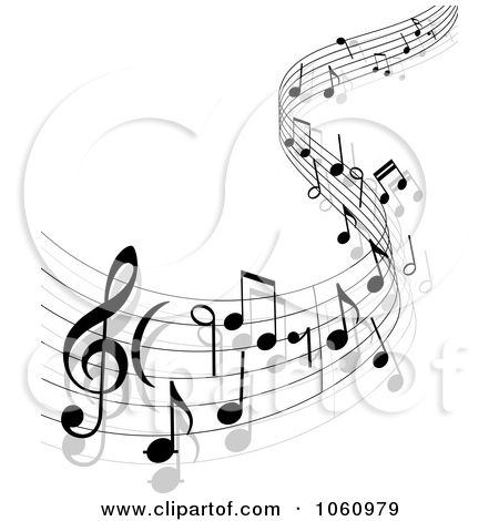 Music Staff Tattoo Designs | ... Background Of Staff And Music Notes - 13 by Seamartini Graphics Media