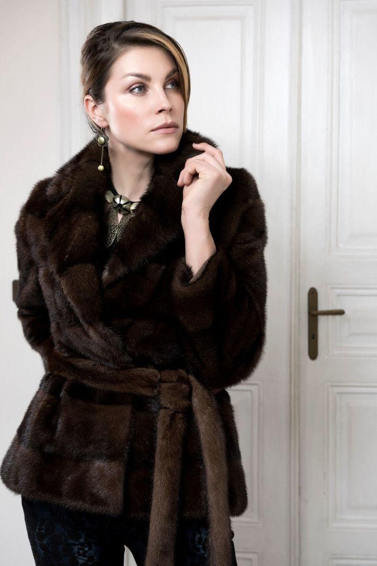 Demi Buff Mink Fur Jacket Whole Skins Giacca Pelliccia Visone Veste Fourrure   eBay