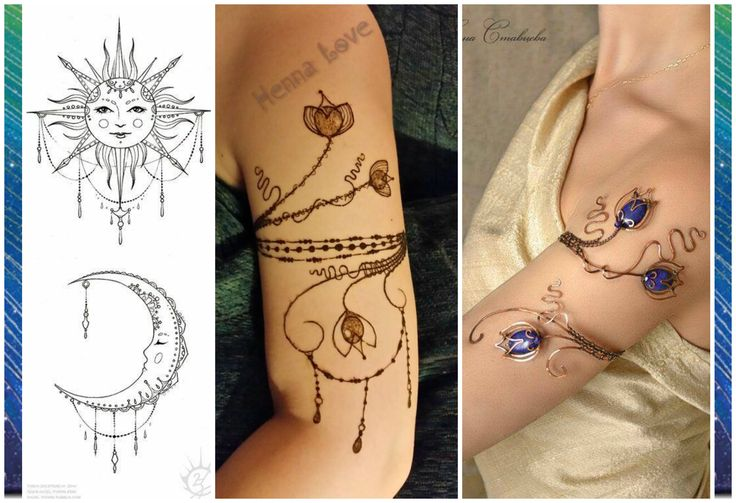 This is my contest entry. I saw the armband and knew immediately that that would be my starting point but I, saw the moon/sun pic and decided to do some draping and beading as well. I love that The Henna Intensive and Retreat runs this contest each year, so much fun! #hennaretreat
