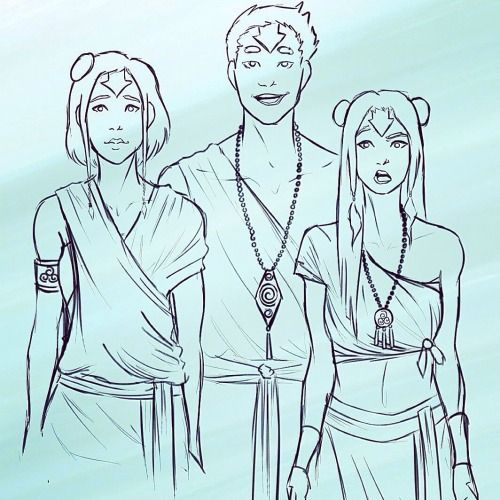 The Airbending Kids All Grown Up | Jinora | Ikki | Meelo | Legend of Korra | Avatar