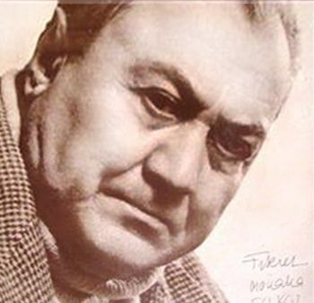 Photo of artist Fikret Mualla Saygi (Turkish-French: 1904-1967)