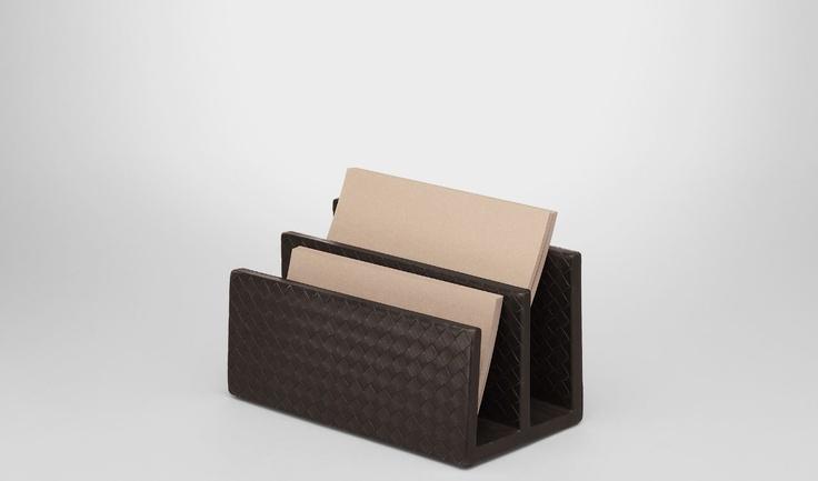 Bottega Veneta®|Intrecciato Nappa Paper Holder|Desk accessory|Living