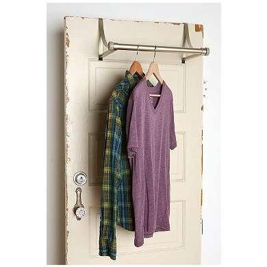 Dorm room space saver.: Closet Doors, College Ideas, Dorm Ideas, Apartment Ideas, Dorm Checklist, Craft Ideas, Dorm Days, Over The Door Hangers