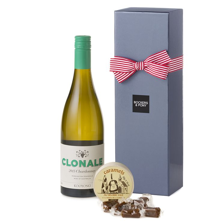 Kooyong Clonale Chardonnay and Caramels | Wine Hampers | Christmas Hampers