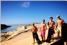 Crisscross Adventures offers Sandboarding trips at the mouth of the beautiful Sundays River near Port Elizabeth.