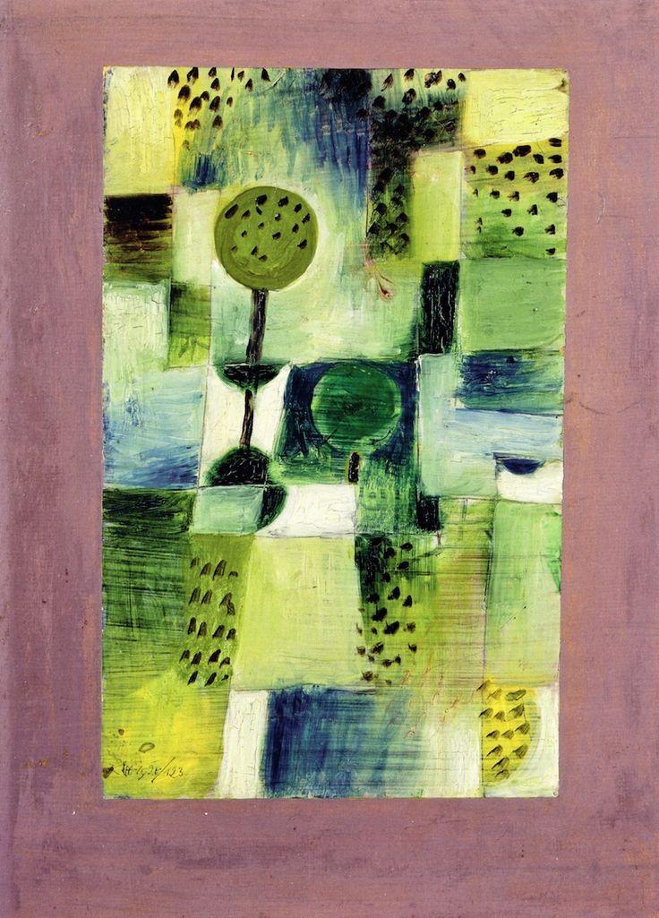 Paul Klee - Park in the Rain, 1920