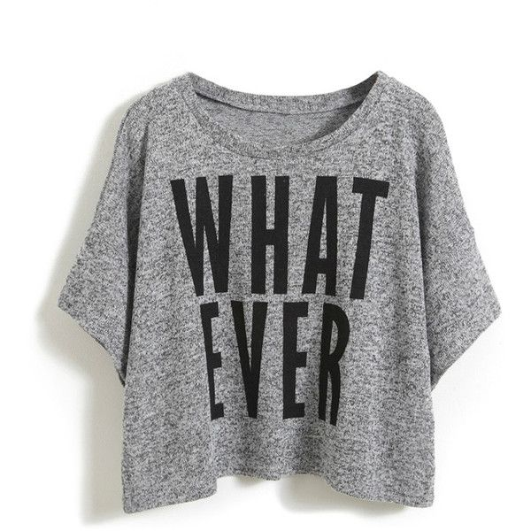 Wording Print Short Sleeved Jumper and other apparel, accessories and trends. Browse and shop 21 related looks.