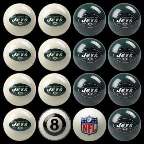 Complete Ball Sets 75193: Imperial 50-1112 Licensed Nfl Jets Billiard Pool Balls Home Vs. Away New -> BUY IT NOW ONLY: $189.95 on eBay!