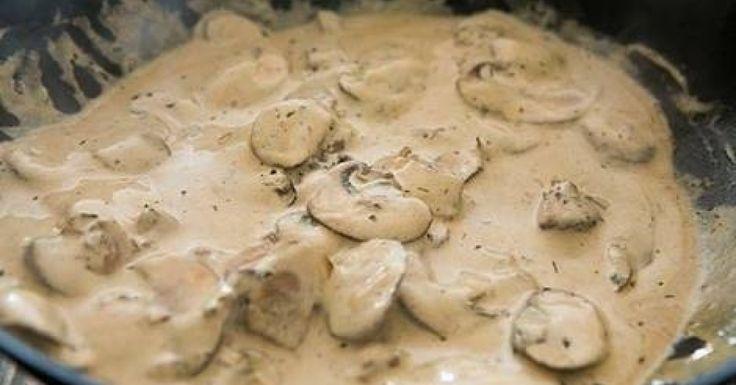 Creamy chefs beef stroganoff