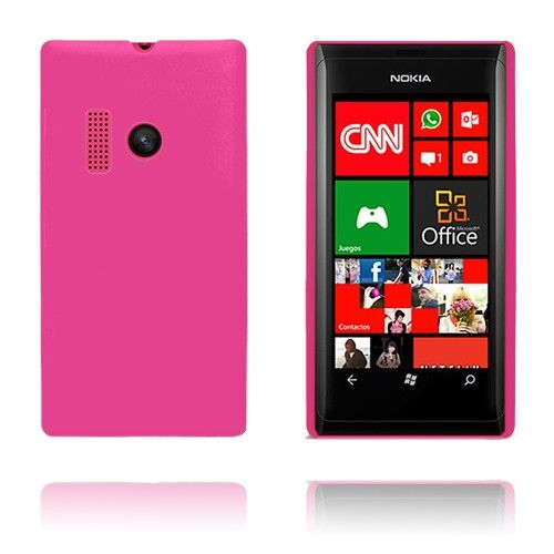 Hard Shell (Hot Pink) Nokia Lumia 505 Cover
