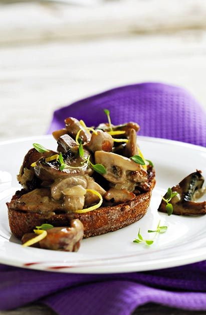 Champignon brød