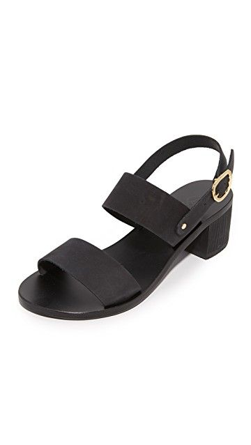 ANCIENT GREEK SANDALS | Lefki Block City Sandals #Shoes #ANCIENT GREEK SANDALS
