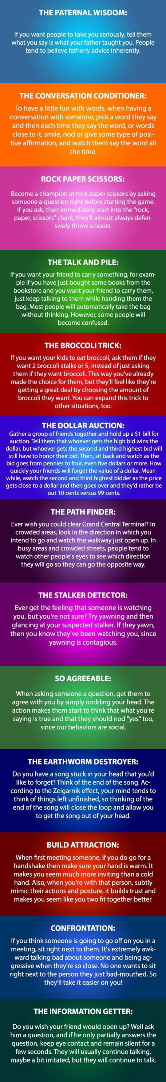 Some Psychology Tricks You Need To Try.