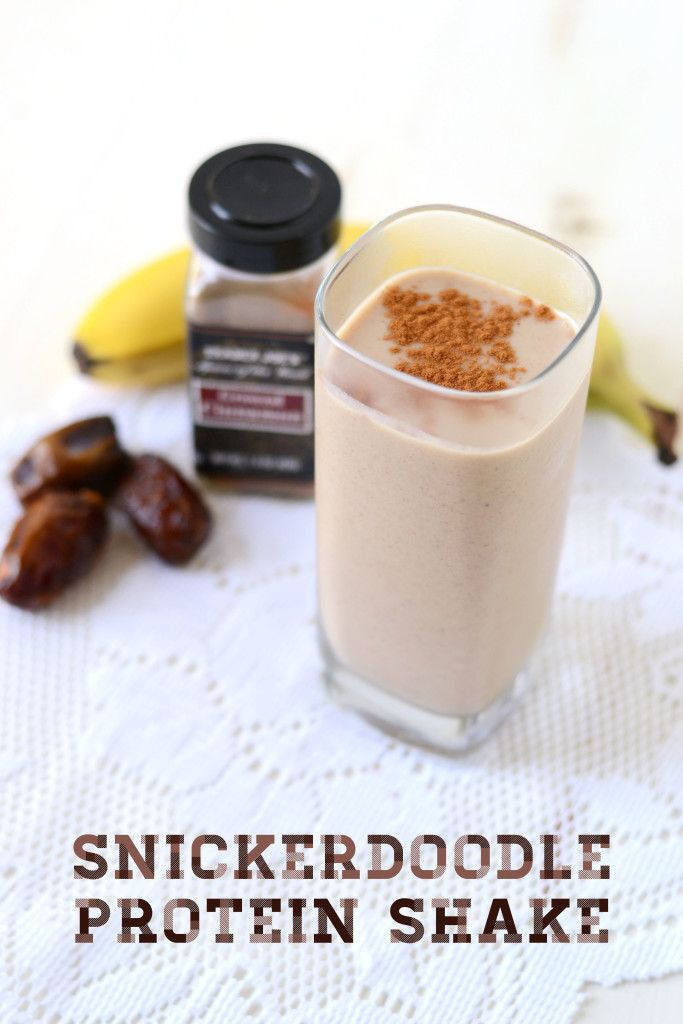 Crush that cinnamon cookie craving with a healthy, protein-packed, refined-sugar free, creamy shake. You can enjoy it as a breakfast, post-workout or healthy dessert.