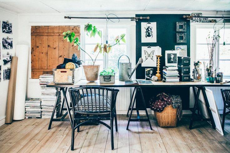 Best 25+ Bohemian Office Ideas On Pinterest