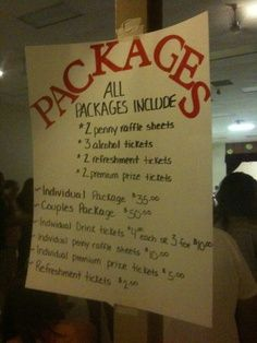 price packages                                                                                                                                                      More