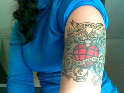 green day tattoo | Green Day Pictures