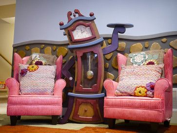 Playroom - eclectic - kids - vancouver - Straight Line Designs Inc