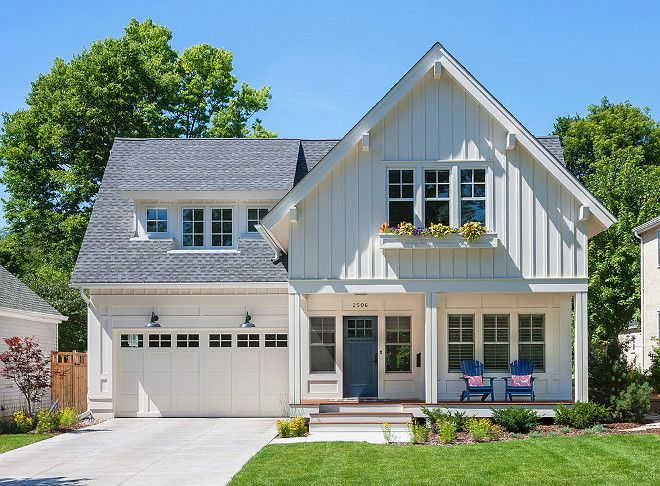 17 Best Ideas About White Farmhouse Exterior On Pinterest