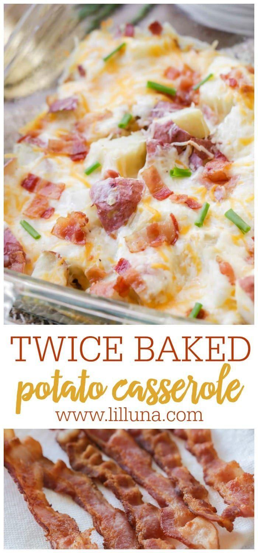 Twice Baked Potato Casserole Recipe Video Lil Luna Recipe In 2020 Potatoe Casserole Recipes Twice Baked Potatoes Casserole Twice Baked Potatoes