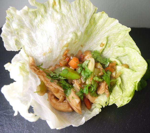 asian chicken wraps 5-2 diet
