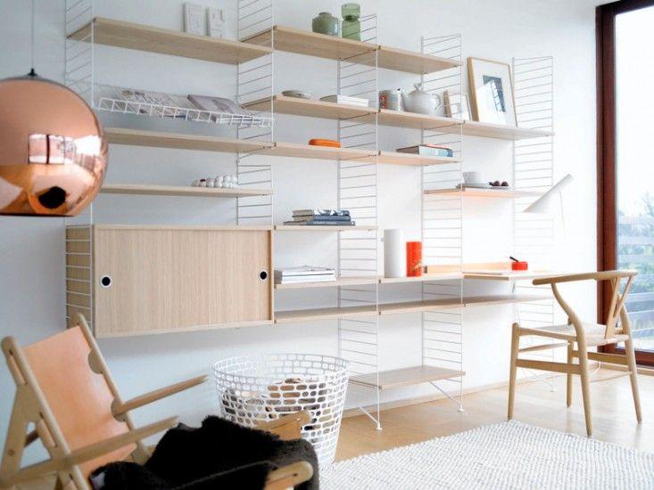 String Shelf Storage System | Remodelista