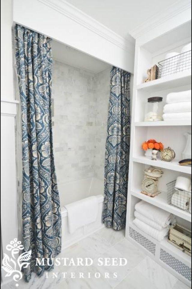 Bathroom Curtain El Bano Ideas Pinterest Bathroom