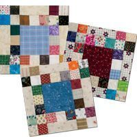 Idaho Square Dance quilt blocks Quiltmaker may/June 15  cut sq at 1.5inches!