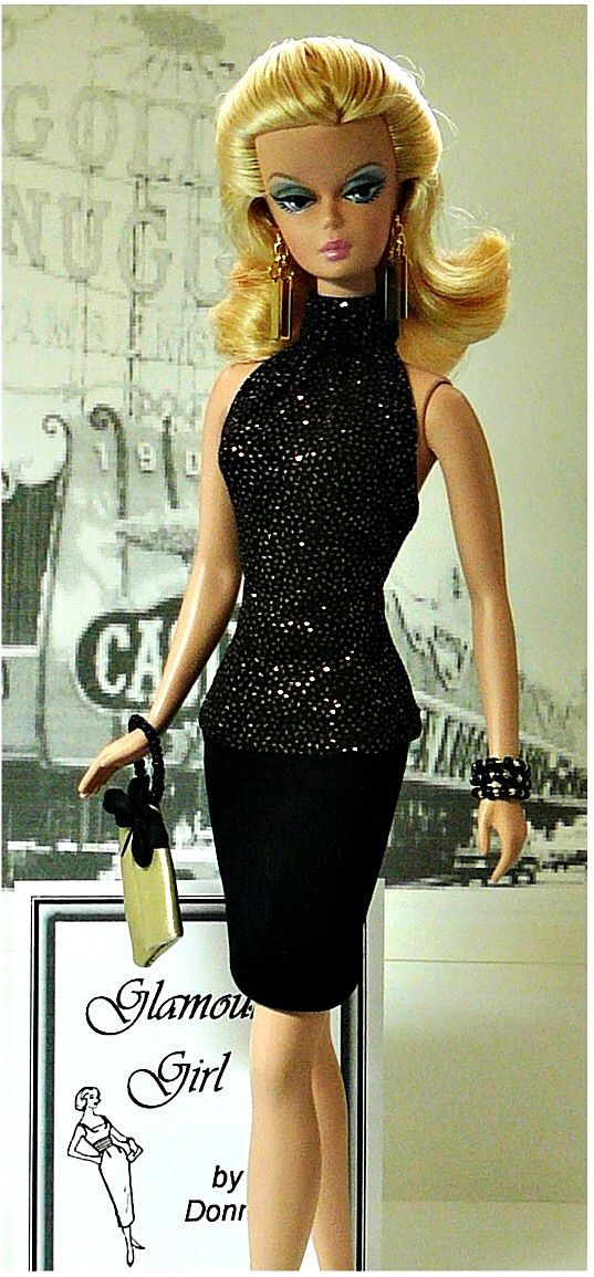 Little Black Dress -I'm always looking for lnd inspiration even when it comes from my beloved Barbie