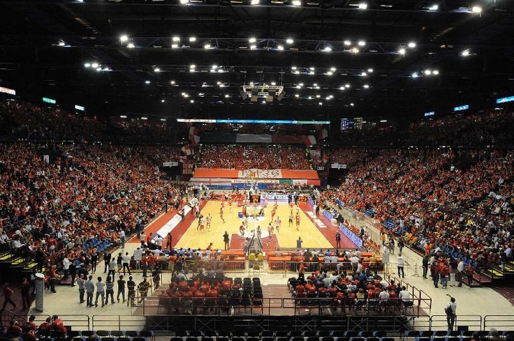 Its no TD Garden but its were Danilo Gallinari used to play with AJ Olimpia Milano. Forum Assago