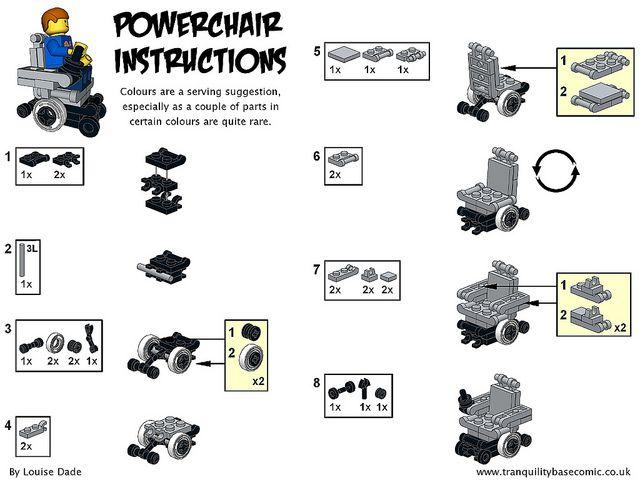 Lego Friends Instruction Manuals